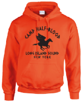 CAMP HALFBLOOD HOODIE - INSPIRED BY PERCY JACKSON RICK RIORDAN